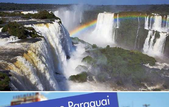 Cataratas do Iguaçu e Paraguai